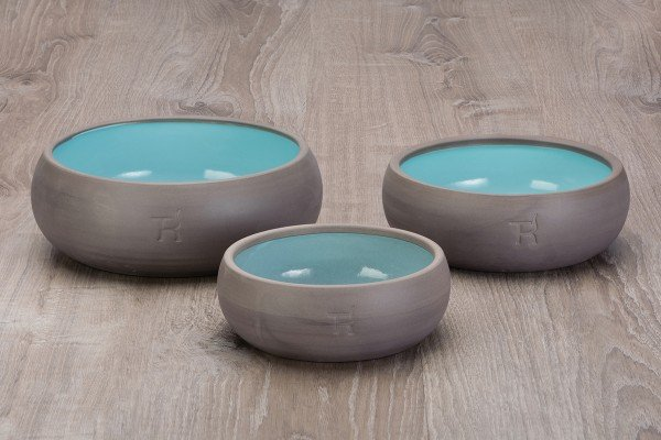 Treusinn - Keramiknapf Pur Aqua