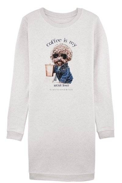 """Coffee-is-My"" Sweat Dress"