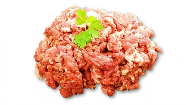 Metzgers Heimtiernahrung - Rind Muskelfleisch grob gewolft