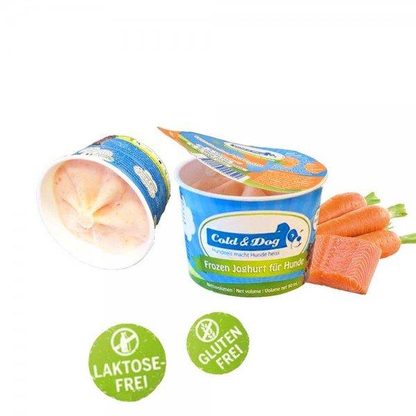 Cold & Dog - Frozen Joghurt mit Wildlachs