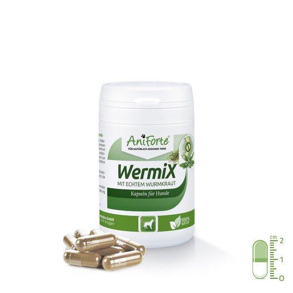 Aniforte - Wermix-Kapseln für Hunde mit echtem Wurmkraut 50 Stk.