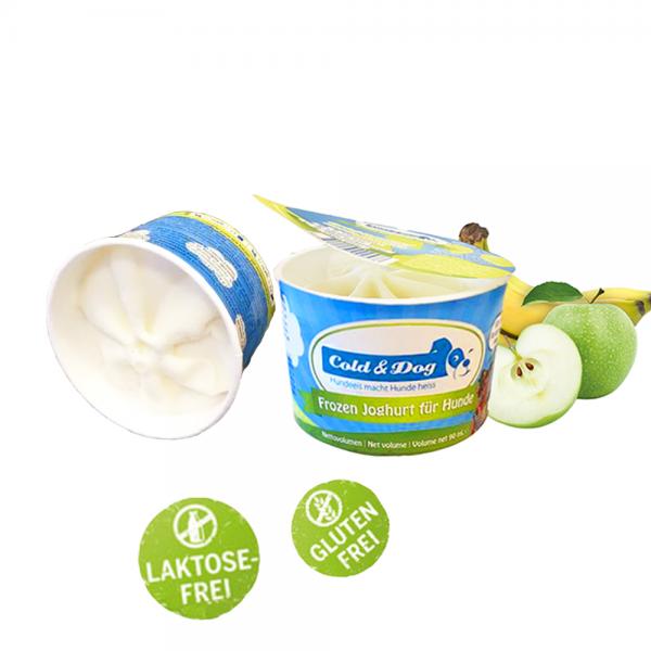Frozen Joghurt mit Apfel & Banane (Bio)