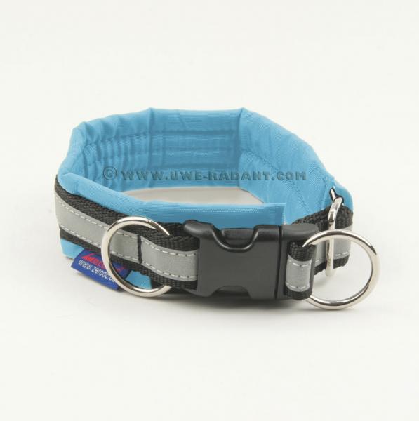 Zero DC - Halsband Soft mit Klickverschluss - Türkis