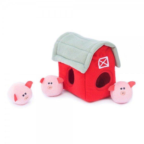 Zippy Burrow - Pig Barn mit Bubble Babiez