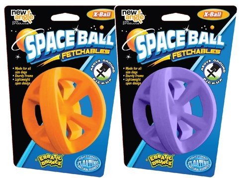New Angle - Space Ball X-Ball Fetch Toy