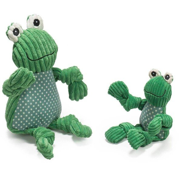 Hugglehounds - Fergie the Frog Knottie