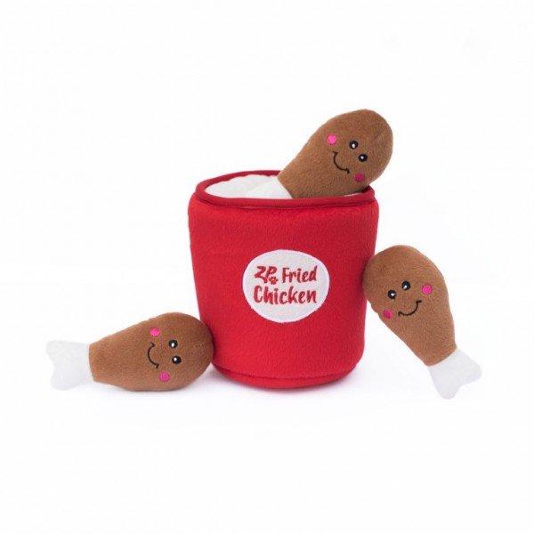 Zippy Burrow - Chickenwings im Eimer