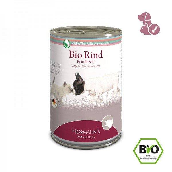Herrmann´s Manufaktur Bio Rind - Reinfleisch 400g