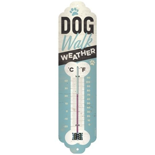 Dog Walk Weather - Thermometer