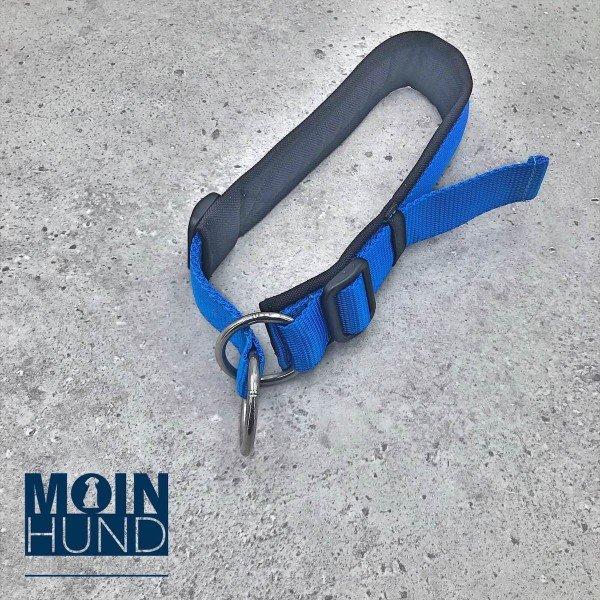 Zugstopphalsband Fun schwarz/blau