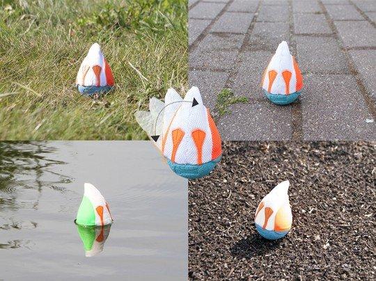 Chuckit Duck Diver - Schwimmspielzeug
