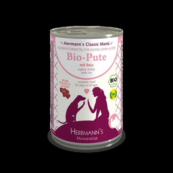 Herrmann's- Bio-Pute mit Reis