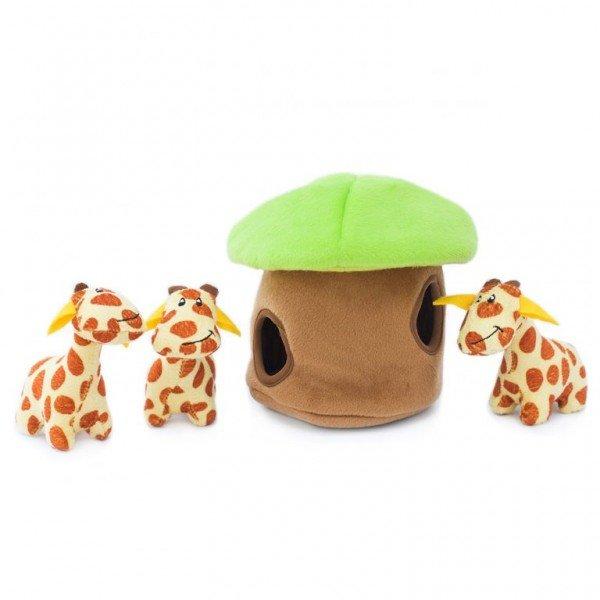 ZippyPaws - Zippy Burrow - Giraffen in Lodge