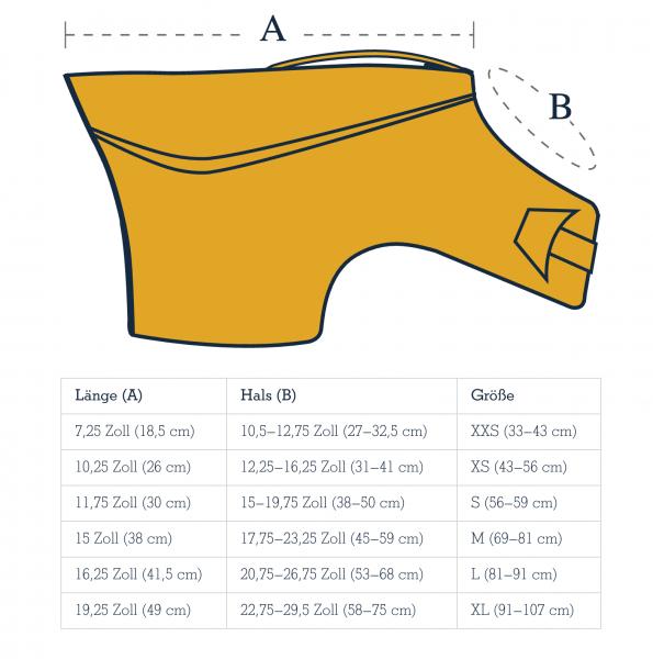 Größenhilfe - Float Coat - Ruffwear