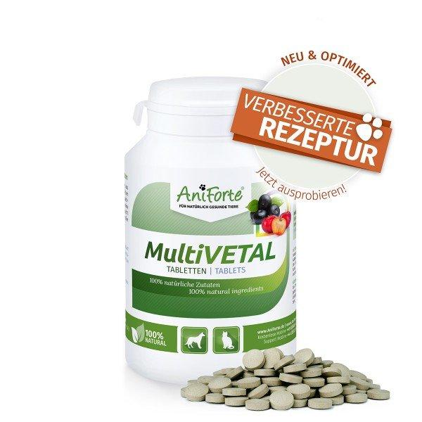 Aniforte - Multivetal mit Gerstengras, Acerola und Asai 250 Stk.