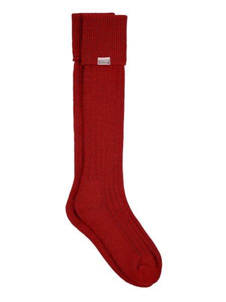 Alpaka - Knielange Socken