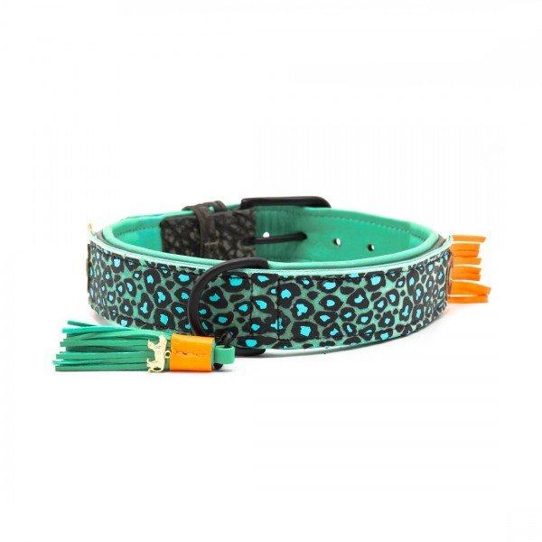 DWAM - Hundehalsband Blue Bird 4cm