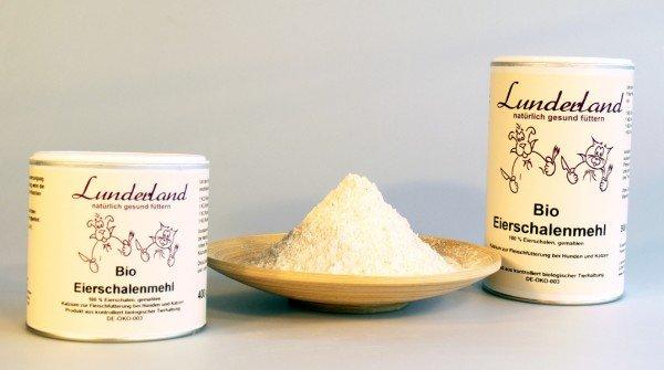 Lunderland - Bio Eierschalenmehl