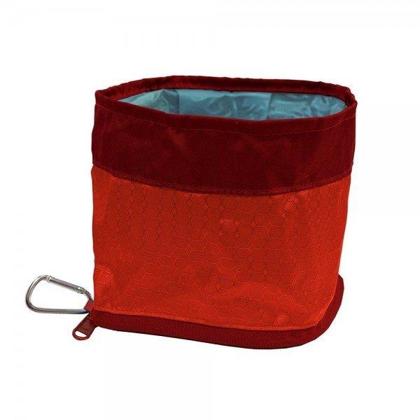 Kurgo - Zippy Bowl Barn Red