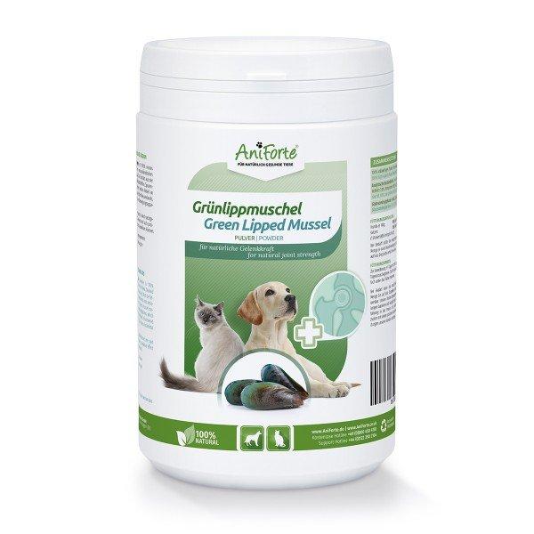 Aniforte - Grünlippmuschel-Pulver - Natürliche Gelenkkraft für Hunde & Katzen