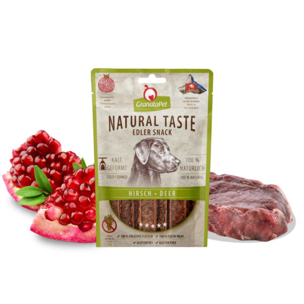 Natural Taste Edler Snack Hirsch
