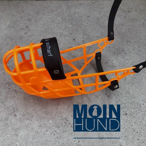 Windhundmaulkorb Ultraflex Orange