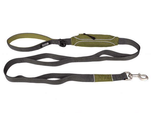 Urban Trail Leash- Hunting Green