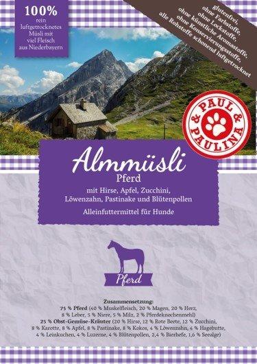 Paul & Paulina - Almmüsli Pferd