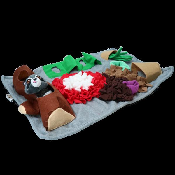 Rectangle Fluffy Mat - Dig it