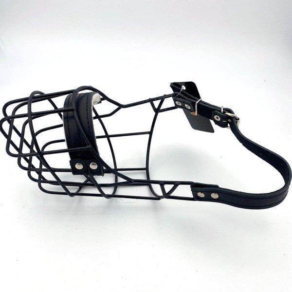 SF Drahtmaulkorb schwarz Beagle Hündin