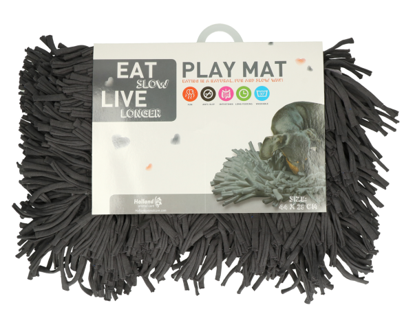 EAT SLOW LIVE LONGER - PLAY MAT